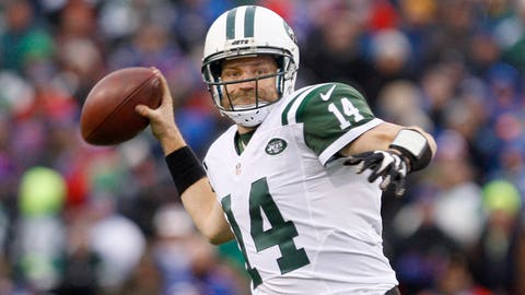 10. New York Jets quarterback Ryan Fitzpatrick