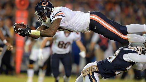 6. Chicago wide receiver Alshon Jeffery