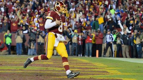 1. Washington quarterback Kirk Cousins