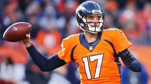 3. Denver quarterback Brock Osweiler