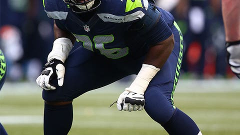 7. Seattle left tackle Russell Okung