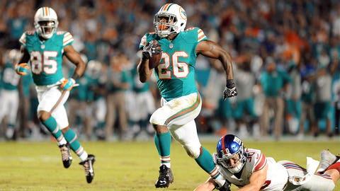 9. Miami running back Lamar Miller