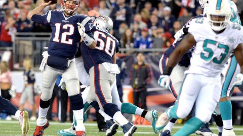 Game 7: Patriots 36, Dolphins 7