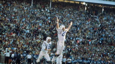 Super Bowl V - Baltimore 16, Dallas 13