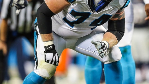 Carolina Panthers -- Mike Remmers, LT/RT
