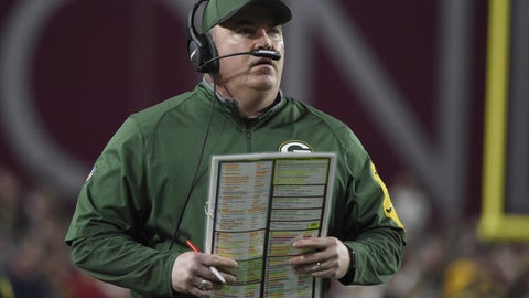 Coach of the Year: Mike McCarthy, Packers (10/1)