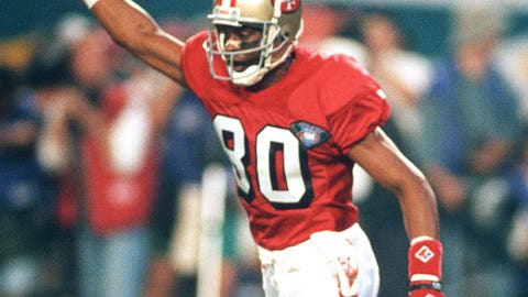 WR: Jerry Rice, 49ers