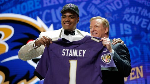Baltimore Ravens: OT Ronnie Stanley, 1st round (6th overall)