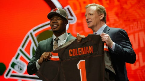 Cleveland Browns: WR Corey Coleman, 1st round (15th overall)