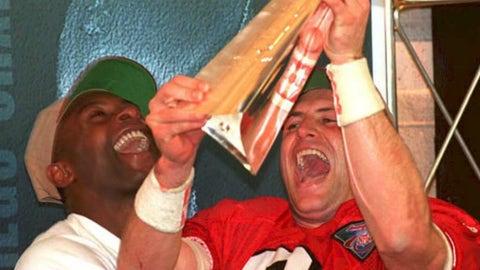 Steve Young's Super Bowl XXIX jersey