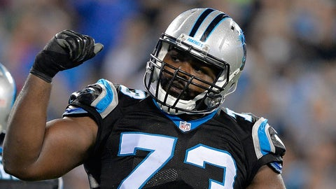 Panthers' Michael Oher accused of assaulting Uber driver