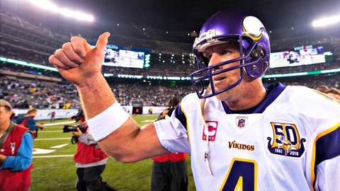 Packers QB Brett Favre: Jets, Vikings
