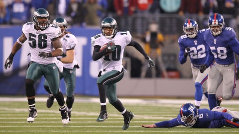 Philadelphia Eagles: Week 15, 2010, vs. New York Giants