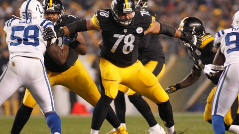 Alejandro Villanueva - LT - Pittsburgh Steelers