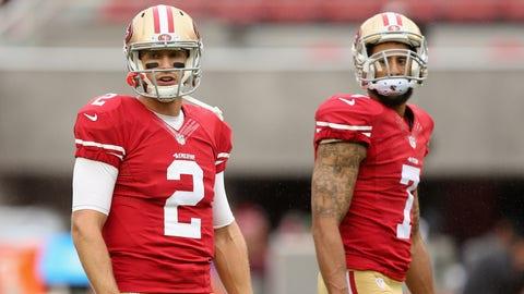 San Francisco 49ers: a mess at quarterback