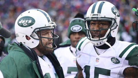 Most receiving yards: WR Brandon Marshall, Jets (33/1)