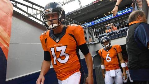 Denver Broncos: the quarterback position