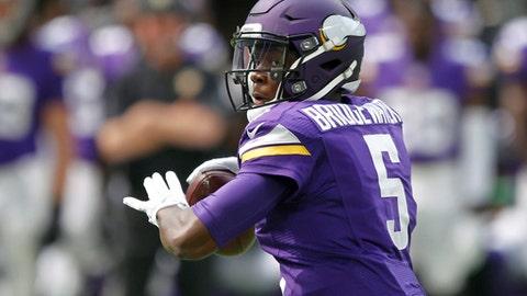 2016: QB Teddy Bridgewater, Minnesota Vikings