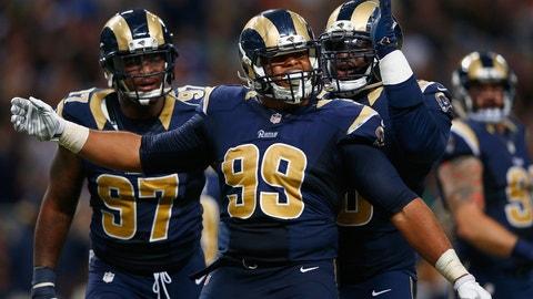 Best defensive line: Rams