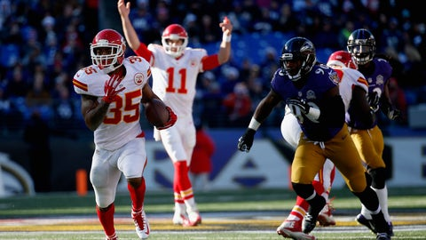 Kansas City Chiefs: 9-7
