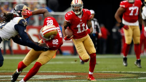 Worst wide receivers: 49ers