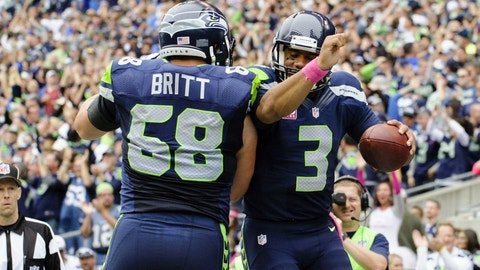 San Francisco 49ers at Seattle Seahawks, 4:05 p.m. FOX (713)