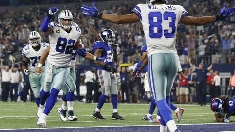 Week 14: Cowboys at Giants, Dec. 11