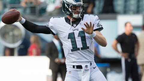 Cleveland Browns at Philadelphia Eagles 1 p.m. on CBS (708)