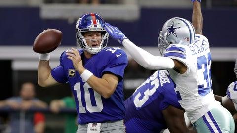 Eli Manning, Giants