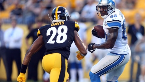 October 29: Pittsburgh Steelers at Detroit Lions, 8:30 p.m. ET