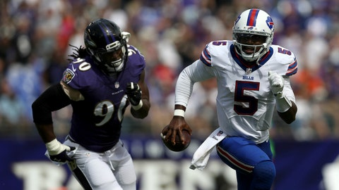 Ravens DT Brandon Williams reveals the plan for stopping Tyrod Taylor
