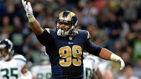 DT: Aaron Donald, Los Angeles Rams: 6-1, 285 pounds
