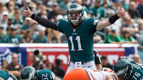 The Eagles will move to 2-0 with a win over Chicago