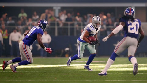 The clock runs out on the Cowboys and receiver Terrance Williams
