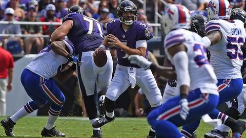 Joe Flacco, Ravens