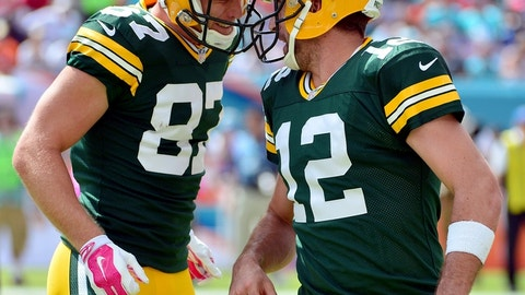 Green Bay Packers at Washington Redskins, 8:30 p.m. NBC