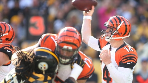 Sunday: Steelers at Bengals