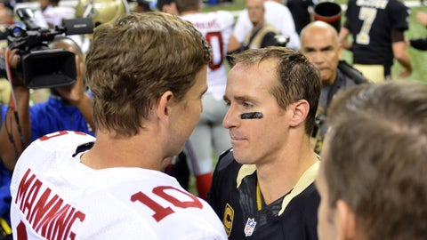 Sunday: Saints at Giants