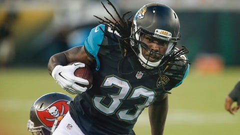 Chris Ivory, RB, Jaguars (non-injury illness): Active