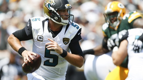 Blake Bortles, Jaguars