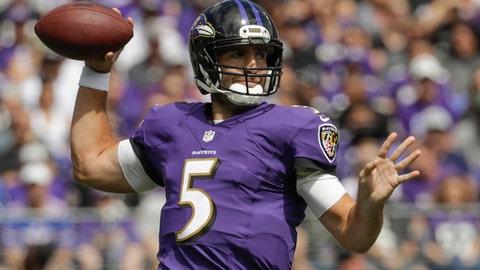 Ravens WR Mike Wallace praises his QB