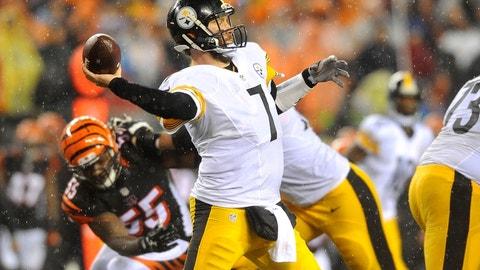 Steelers at Bengals: 8:30 p.m., Dec. 18 (NBC)