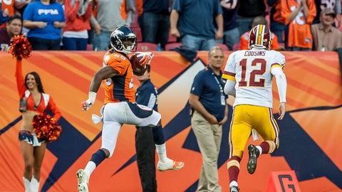 December 24: Denver Broncos at Washington Redskins, 1 p.m. ET