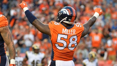 Von Miller closed out the Colts