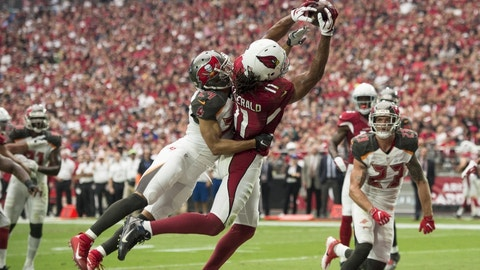October 15: Tampa Bay Buccaneers at Arizona Cardinals, 4:05 p.m. ET