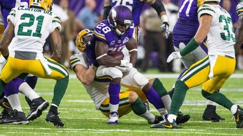 Adrian Peterson, RB, Vikings (knee)