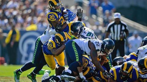 L.A. Rams 9, Seattle 3