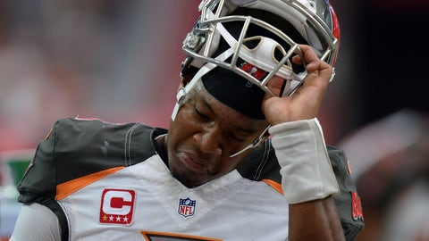 Buccaneers QB Jameis Winston anchors his passer rating