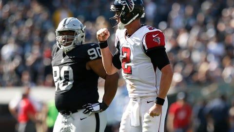 Atlanta Falcons: (last week: 23)