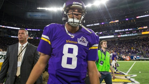 Vikings (+2.5) over LIONS (Over/under: 41.5)